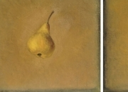 PEARS, 25x25x2, oil on canvas, 2013