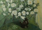 WILD ROSES, 50x60, oil on canvas, 2010