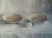 PLATES, 45x60, oil on canvas, 2011